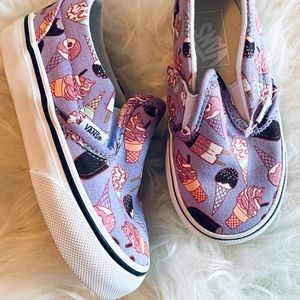 Vans Ice Cream slip ons 🍦